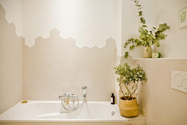 Salle de bains green