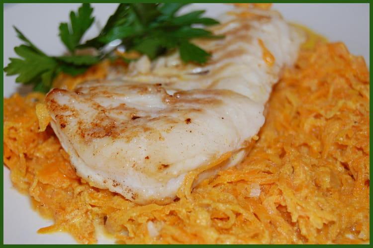 Recette de pav s de cabillaud douceur de carottes la - Que cuisiner avec des carottes ...