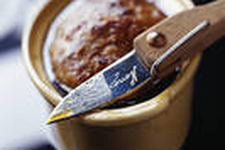 Terrine mixte au foie gras