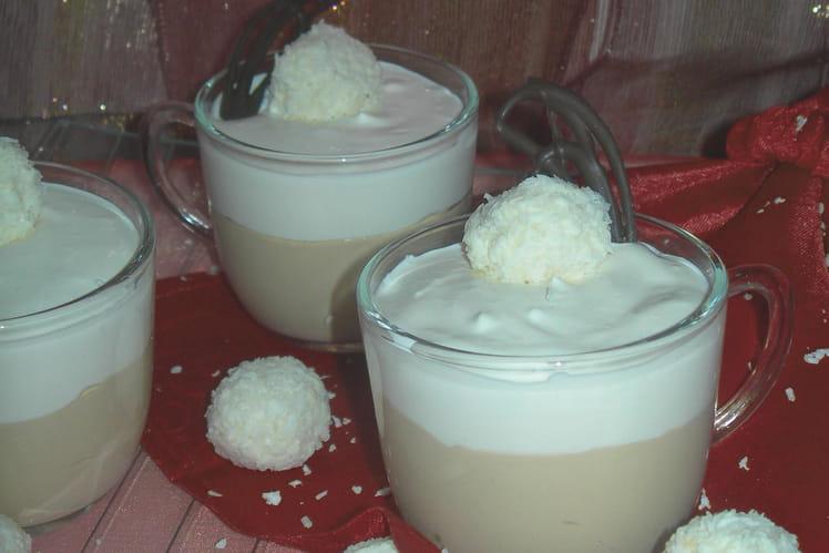 Tiramisu au café et noix de coco