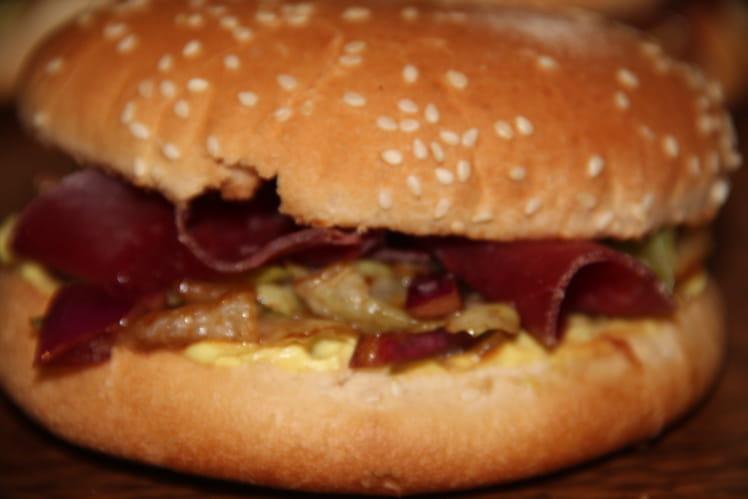 Hamburger au pastrami