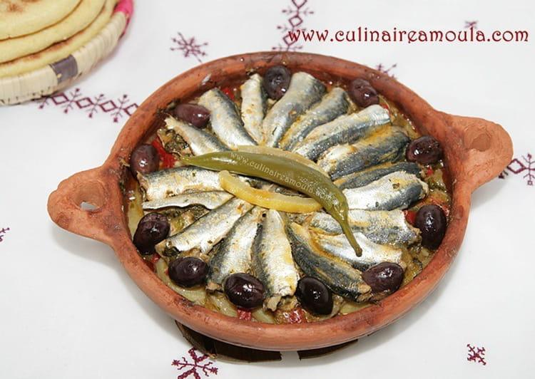 Tajine de sardines la chermoula - Cuisiner des filets de sardines fraiches ...