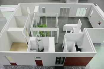 La maison inov en maquette - Comment estimer une maison ...