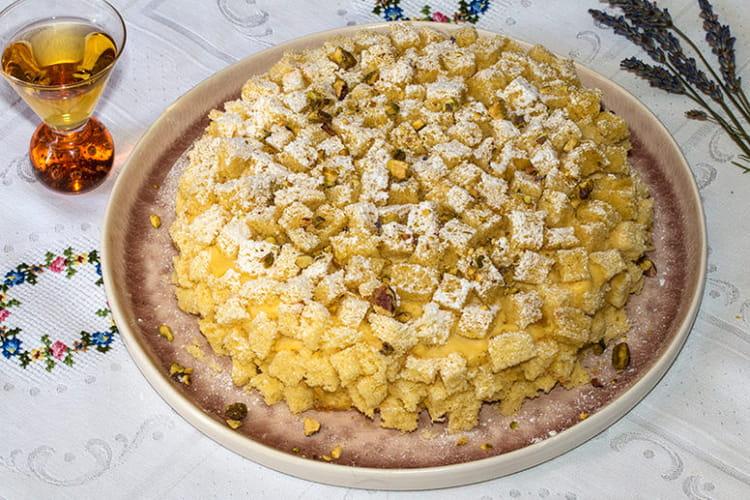 Torta mimosa (Tarte mimosa)