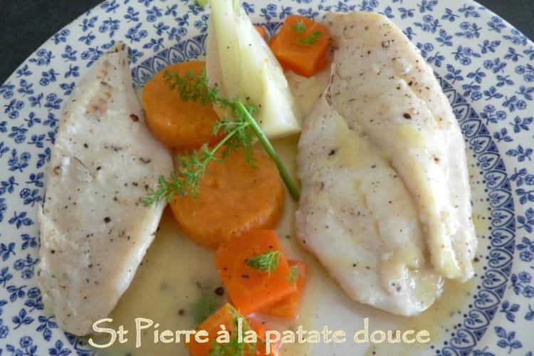 St Pierre à la patate douce