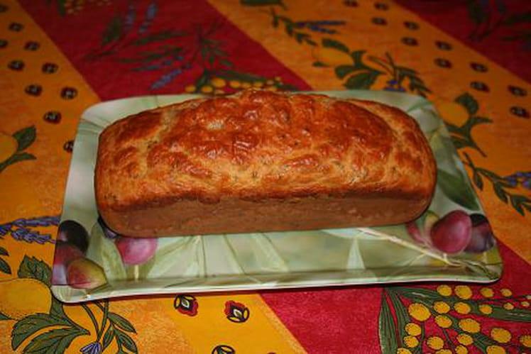 Cake au thon et à la ciboulette