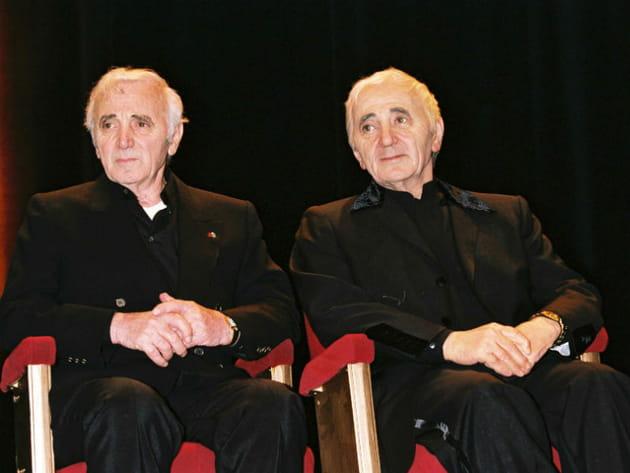 Charles Aznavour au musée Grevin