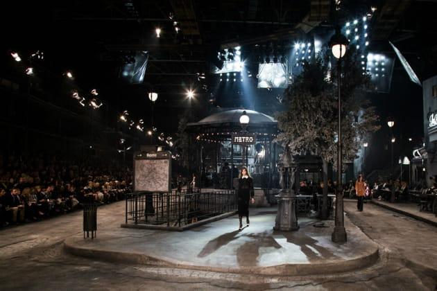 Le décor du défilé Chanel Métiers d'Arts 2015-2016