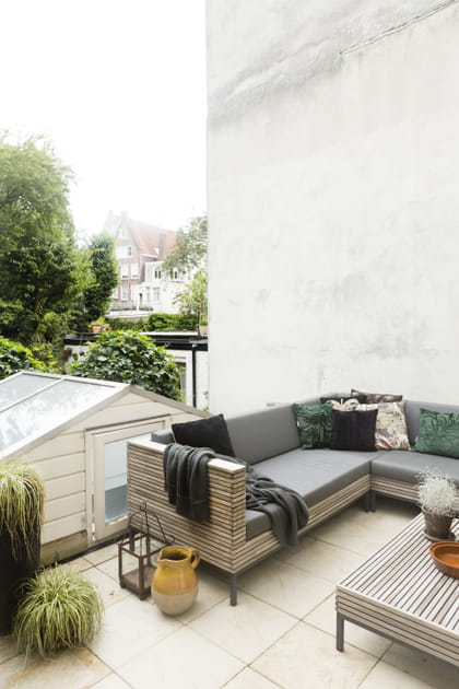 Un second salon sur la terrasse
