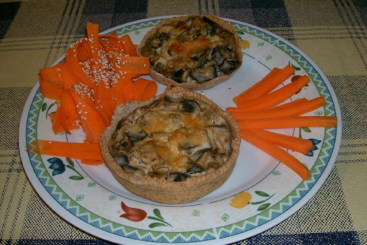 Tartelettes aux aubergines