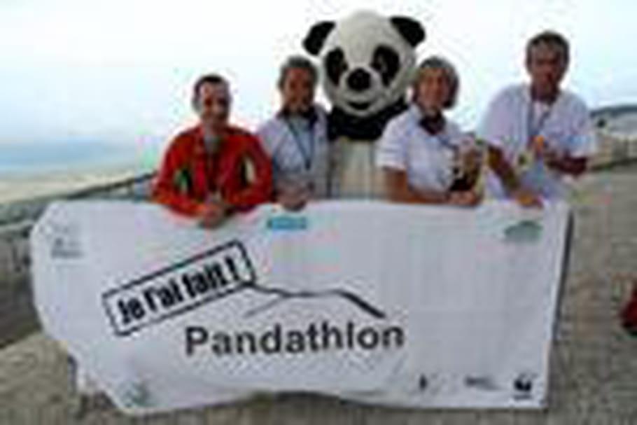 """Le """"Pandathlon"""", du sport éco-solidaire"""