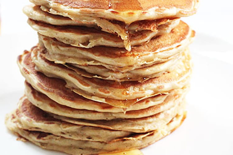 Pancakes aux pommes râpées