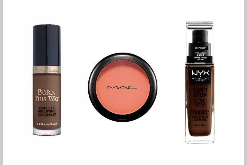 Maquillage pour peaux noires et métisées 2018