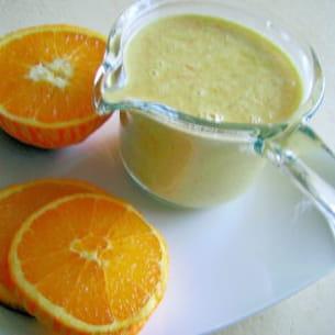 sauce à l'orange et aux épices