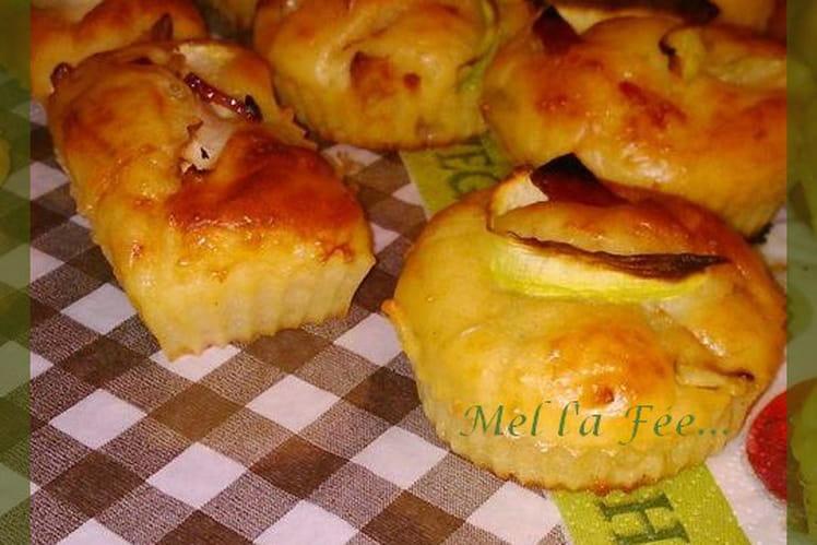 Minis cakes courgette et chorizo
