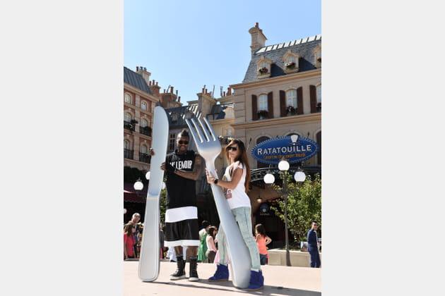 Djibril Cissé et sa compagne
