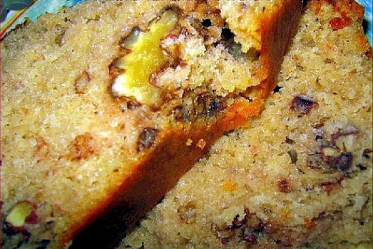 Moelleux aux châtaignes et mélanges de noix