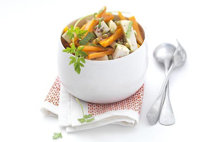 Salade végétale et gourmande