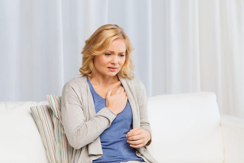 Spasme coronarien: symptômes, causes, traitement