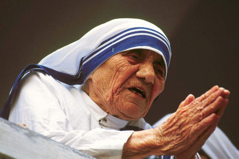 Mère Teresa: toute une vie à donner aux autres
