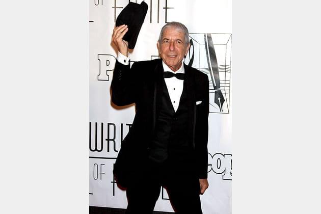 Arrivée au Songwriter Hall of Fame Awards en 2010