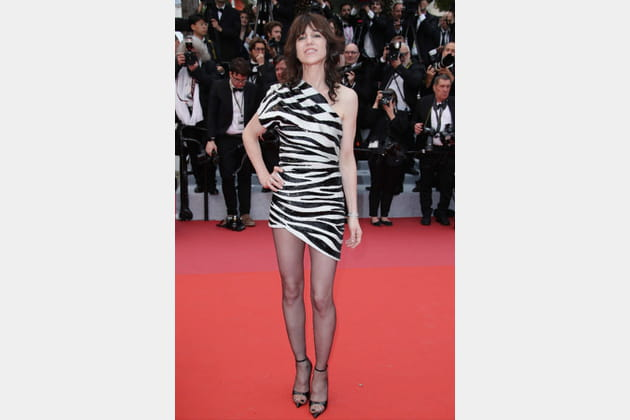 Charlotte Gainsbourg en Saint Laurent