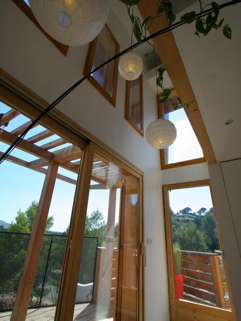 Une maison en bois façon triplex