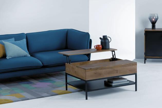 Table basse-rangement Lomond sur Made.com