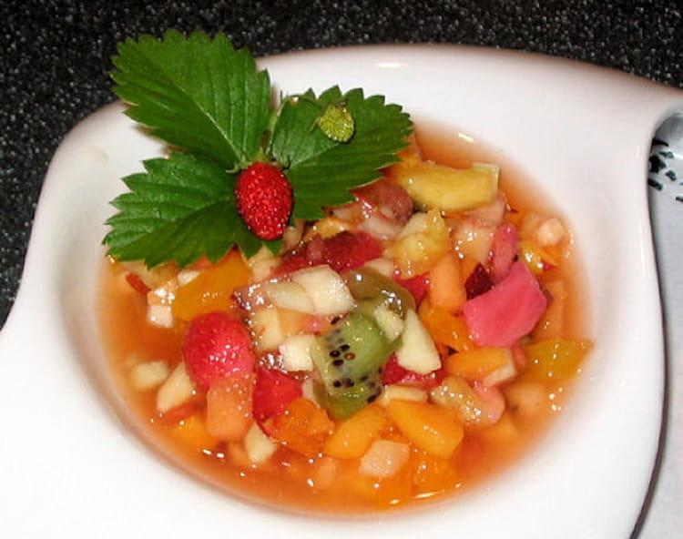 Recette De Salade De Fruits Frais La Recette Facile