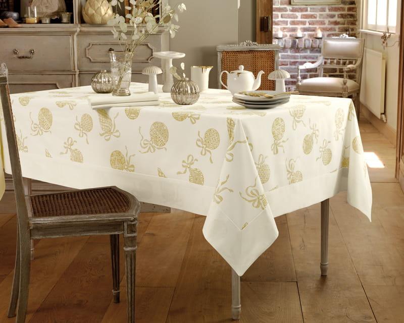 Linge de table soir de no l de linvosges - Linge de table luxe ...