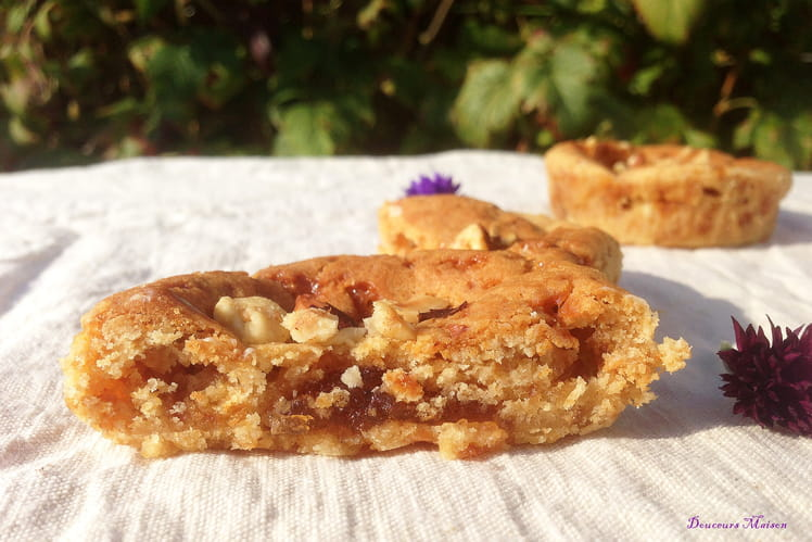 Cookies normands au caramel et cœur de pomme