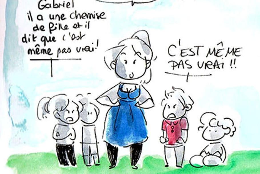 Une animatrice illustre le sexisme en maternelle