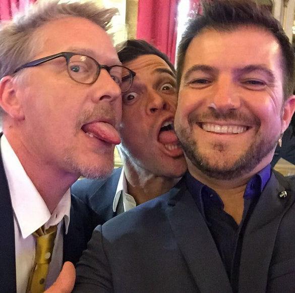 Sébastien Demorand tire la langue à Eric Guérin