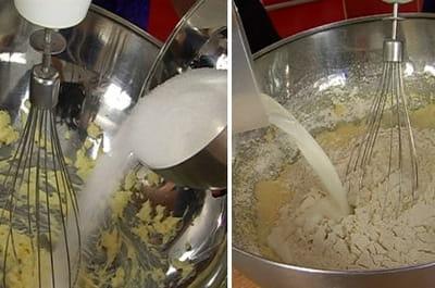 préparer les muffins