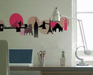 sticker 'tour du monde' d'anaïs garat chez art sticker