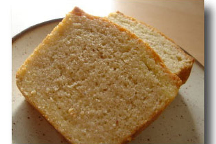 Cake moelleux aux amandes