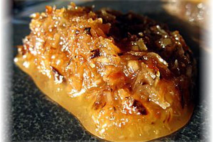 Palets philippins à la noix de coco