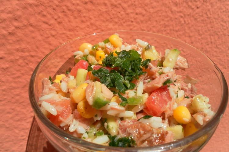 Salade de riz fraîcheur