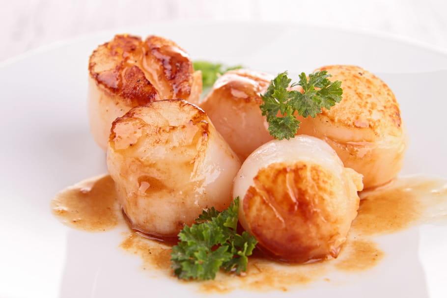 Comment cuisiner des saint jacques la po le - Comment cuisiner des crevettes roses ...