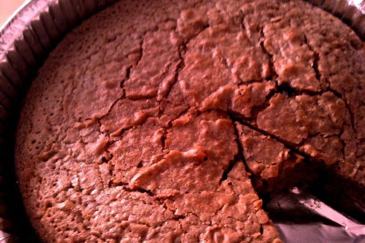 Gâteau moelleux au nutella et pépites