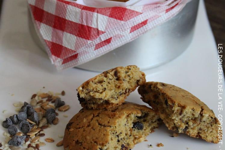 Cookies multi céréales et pépites de chocolat