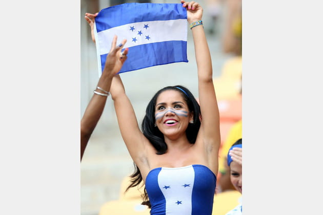 Supportrices sexy Coupe du monde 2014  Honduras