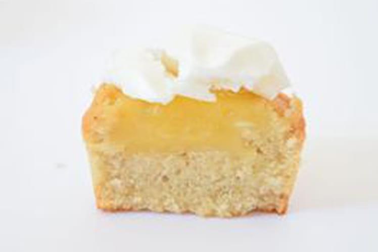 Financier à la crème de citron/meringue sans gluten sans lactose