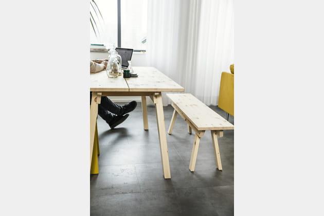 Banc Industriell d'Ikea