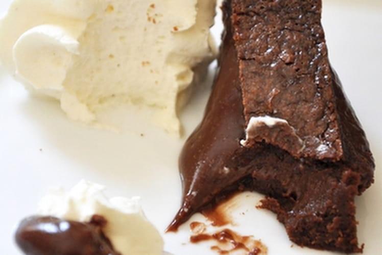 Fondant au chocolat au mascarpone