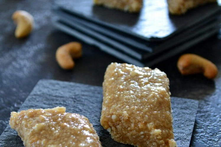 Friandises aux noix de cajou Kaju Katli