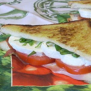 croques mozzarella