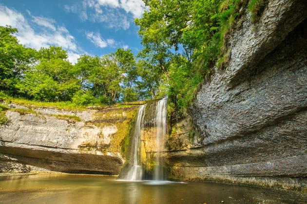 La vallée des sept cascades dans le Jura