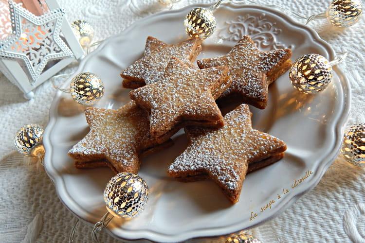 Sablés étoiles de Noël au citron