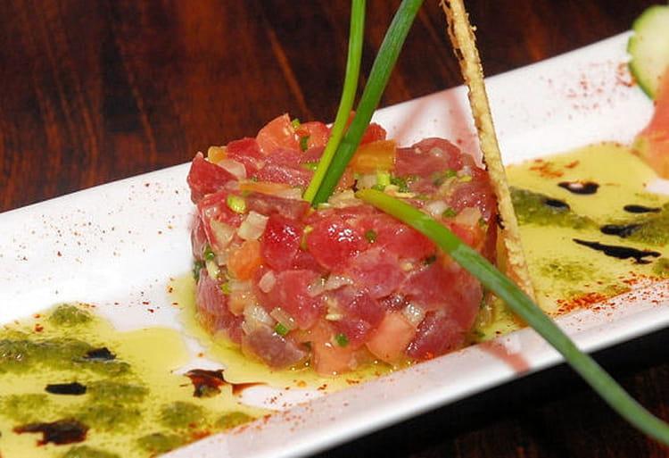 Tartare De Thon Rouge Au Gingembre - Cuisiner le thon